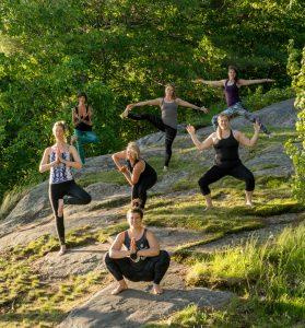 Group Yoga Muskoka